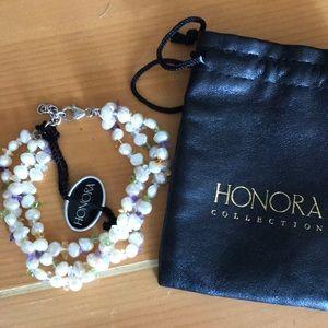 Honora Pearl & Gemstones Bracelet